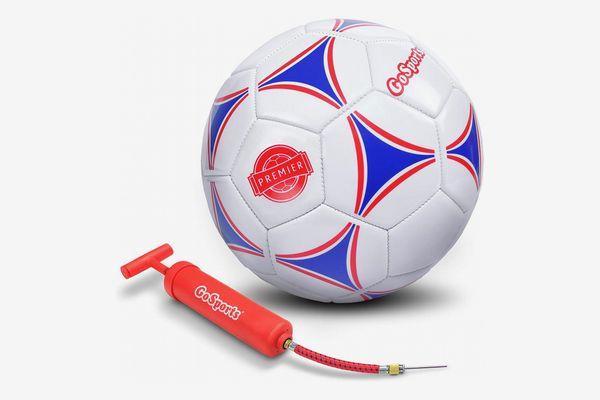 GoSports Premier Soccer Ball with Premium Pump