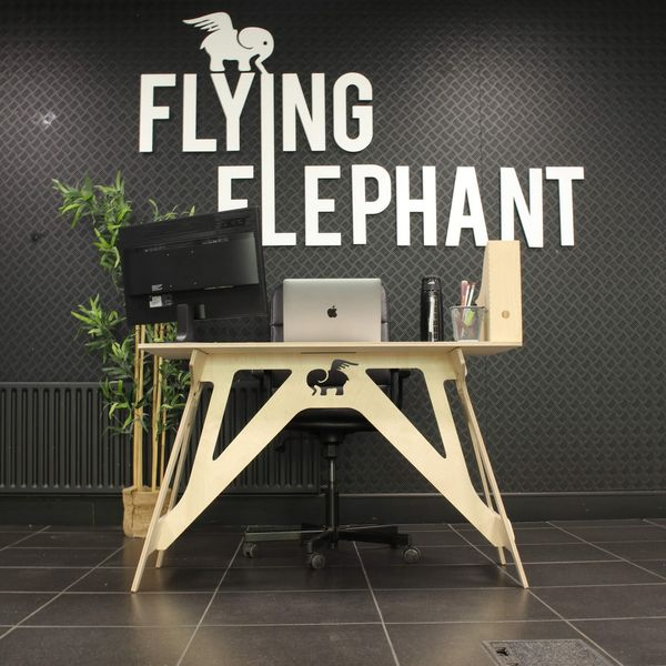 Flying Elephant Work From Home Desk