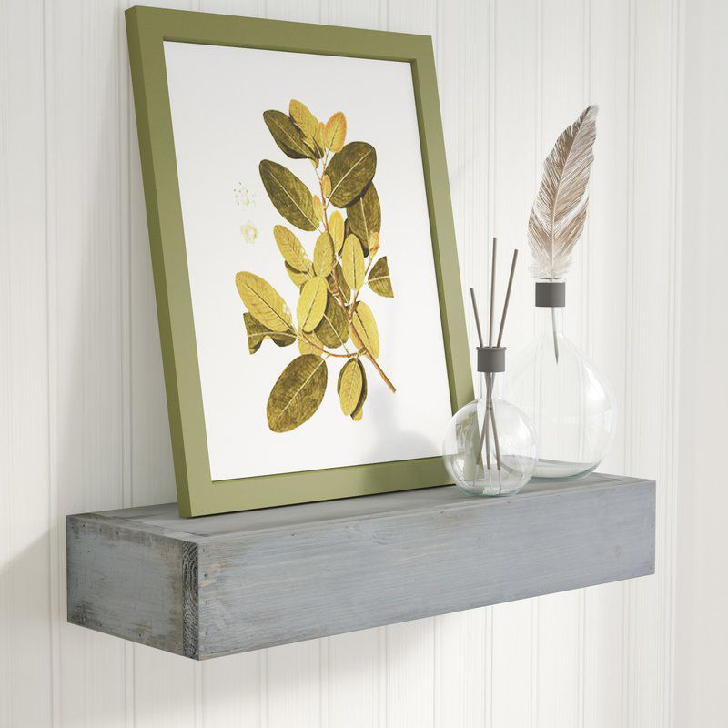 Laurel Foundry Modern Farmhouse Meriweather Handmade Floating Shelf