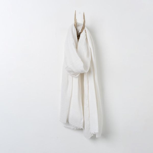Shoo For Good The Camellia Lightweight Wrap in Cloud