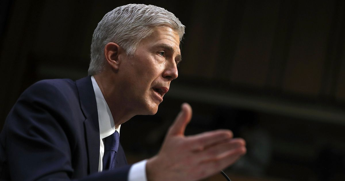 There Was a Lot of Happy Talk on Day One of Neil Gorsuch's Confirmation Hearings