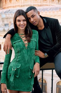 Kendall Jenner and Olivier Rousteing