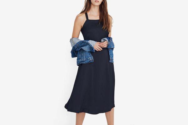 Madewell Apron Crisscross Dress