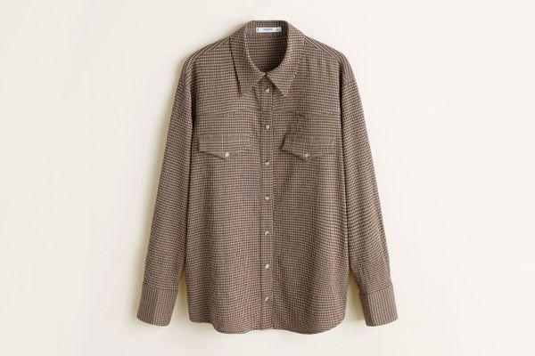 Chest-Pocket Check Shirt