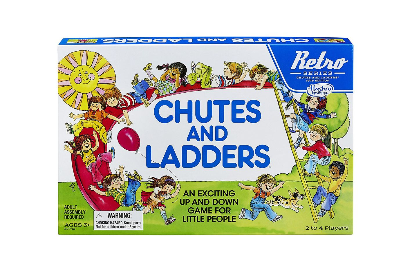 Chutes and Ladders: 1978 Retro Series Edition