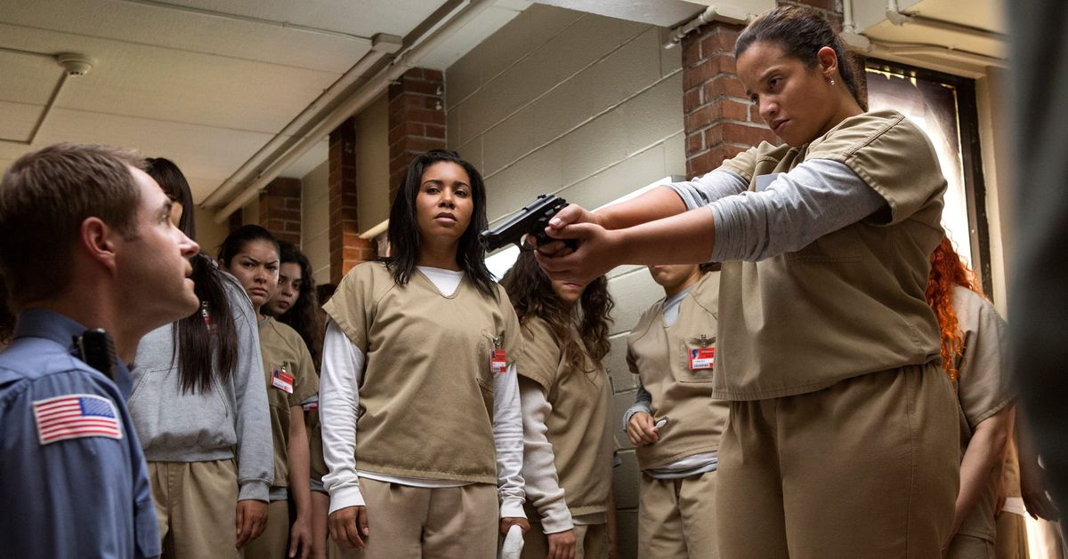Orange Is the New Black Recap, Season 5 Episode 1: Riot FOMO