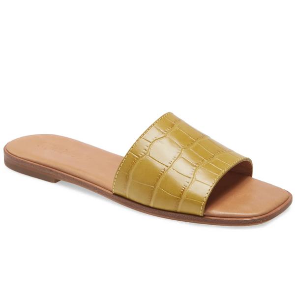 Madewell The Lianne Woven Slide Sandal