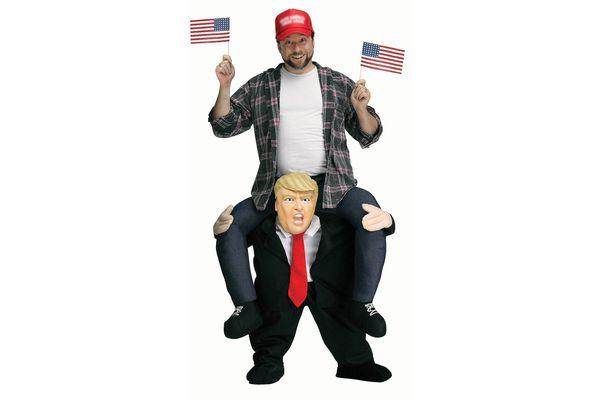Adult Piggyback Mr. President Costume