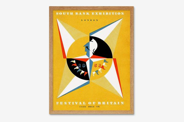 Southbank Exhibition Festival Britain 1951 Art Print