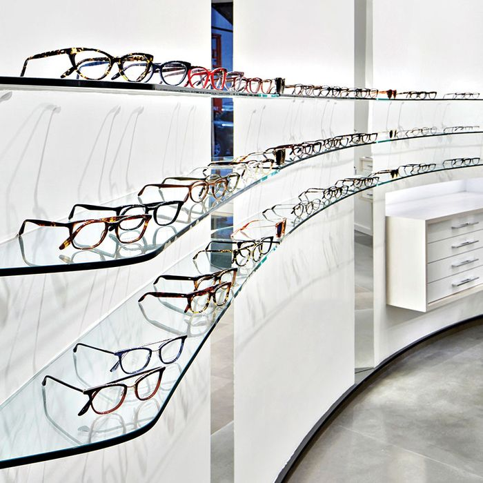 Techie eyeglasses from Barton Perreira.
