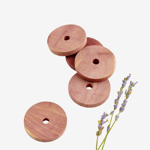 The Container Store Cedar & Lavender Rings Pkg/12