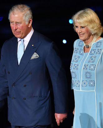 Prince Charles and Camilla.