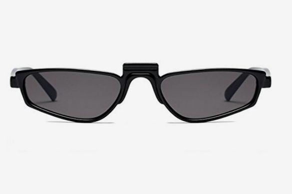 Super Skinny Thin Small Narrow Sunglasses