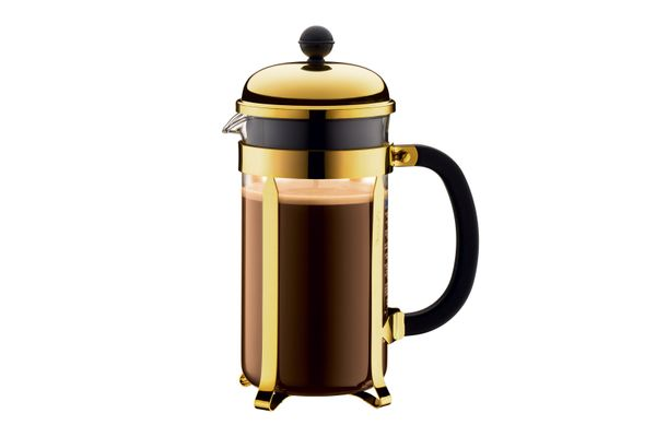 Bodum Chambord Gold Coffee Maker