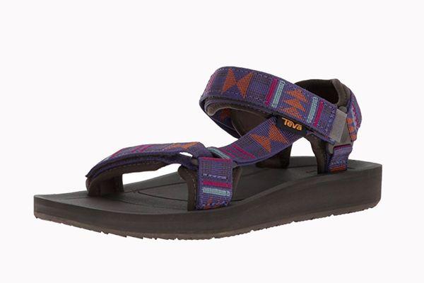 Tevas Women's Original Universal Premier Sandal in Beach Break Deep Wisteria