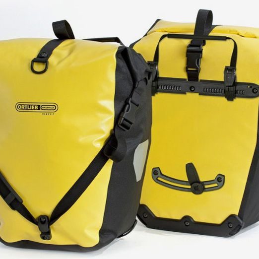 Ortlieb Back-Roller Classic Panniers, Pair