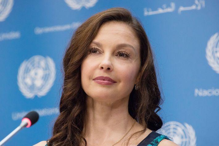 Actress and political activist Ashley Judd.