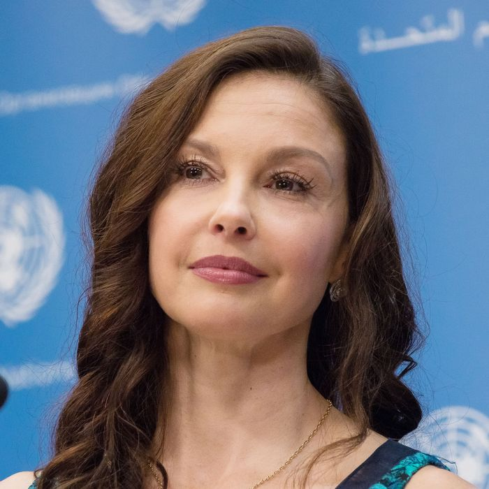 Actress and political activist Ashley Judd.