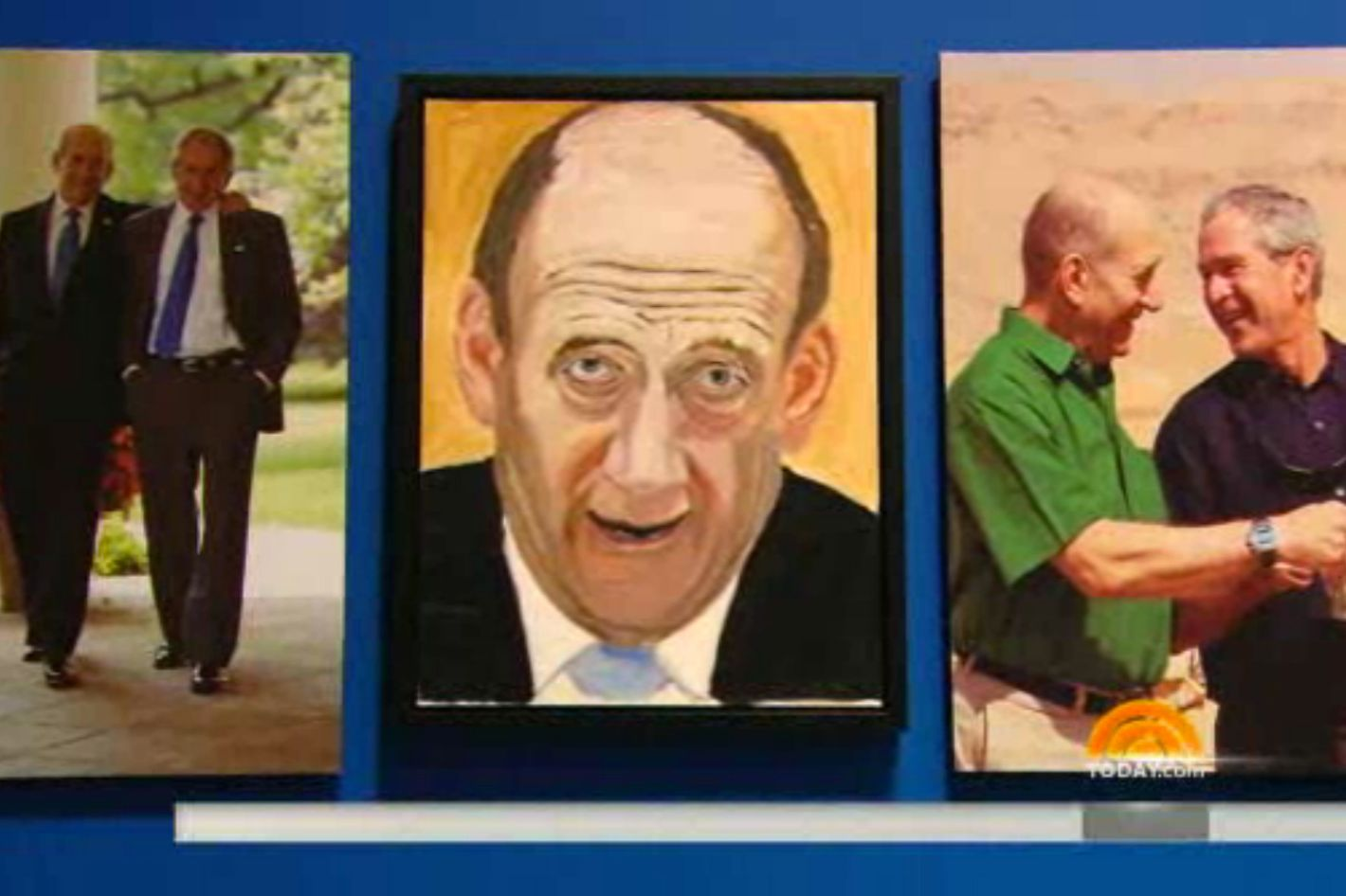 Check Out a New Set of George W  Bush Paintings, Including