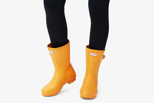 Hunter Women's Original Short Rain Boots, Marigold