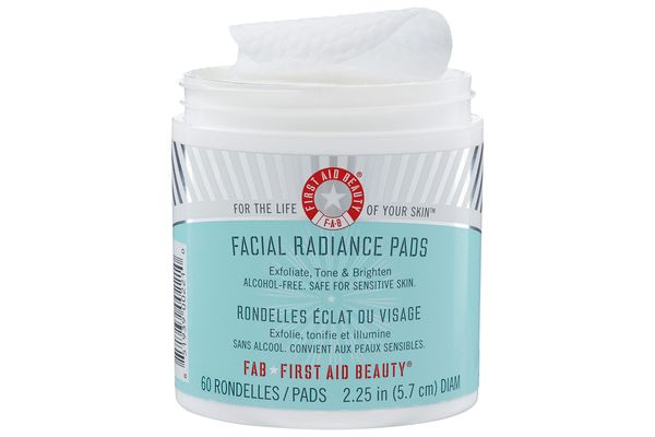 First Aid Radiance Pads.