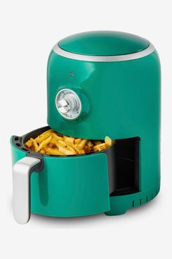 Aria Teflon-Free Ceramic 2-Qt. Retro Air Fryer