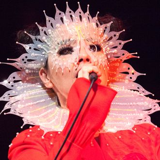 Bjork Performs in Concert At Iceland Airwaves Music Festival