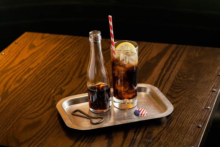Porchlight's Whiskey and Cola