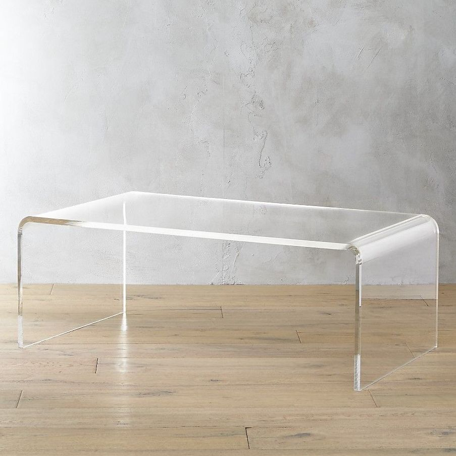 8 Best See Through And Acrylic Coffee Tables 2020 The Strategist New York Magazine [ 903 x 903 Pixel ]