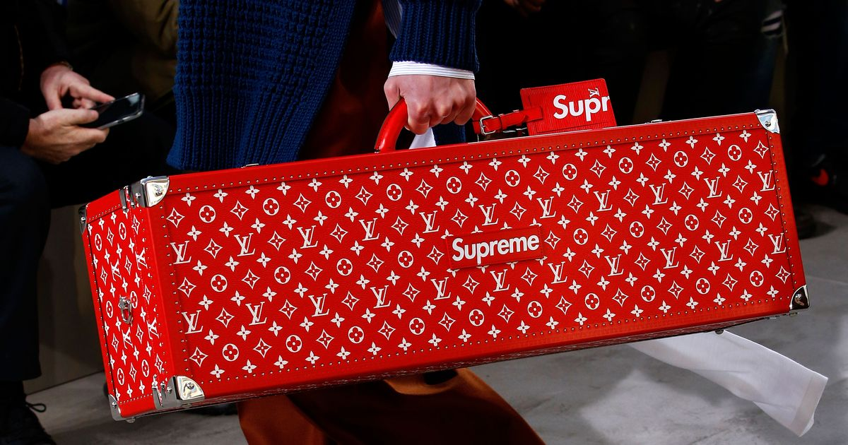 The Supreme and Louis Vuitton Collab Was a Brilliant Troll