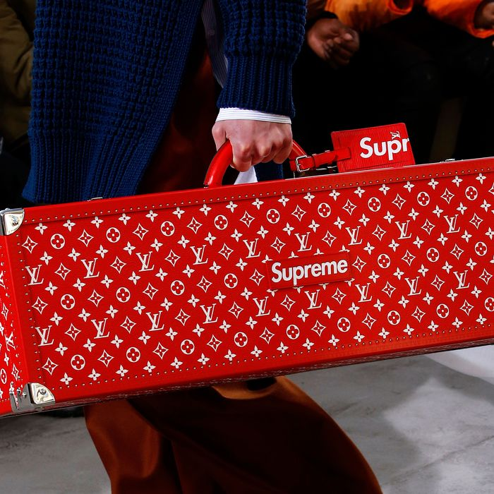 Why the Supreme and Vuitton Collab Was the Season's Most Brilliant Troll