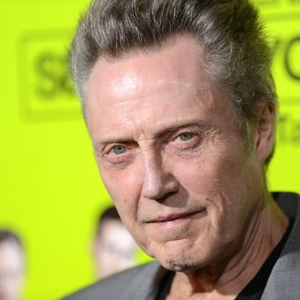 WESTWOOD, CA - OCTOBER 01: Actor Christopher Walken arrives at the premiere of CBS Films'