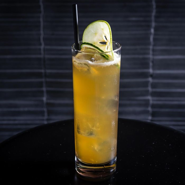 Bar Goto's Cucumber-Apple Collins
