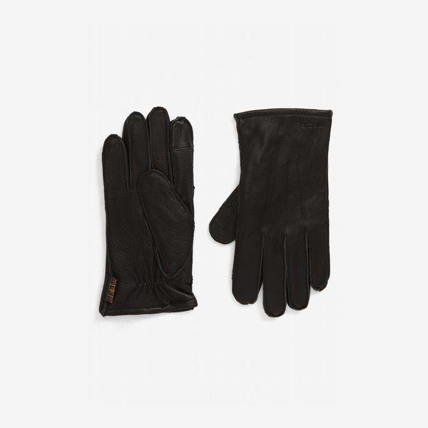 black barbour bexley touchscreen gloves - strategist nordstrom sale 2019