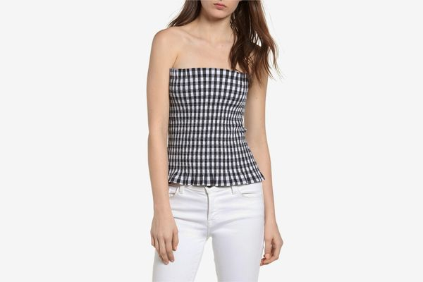 Bishop & Young Gingham Top