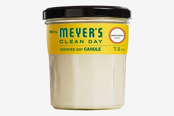 Mrs. Meyer's Clean Day Scented Honeysuckle Soy Candle