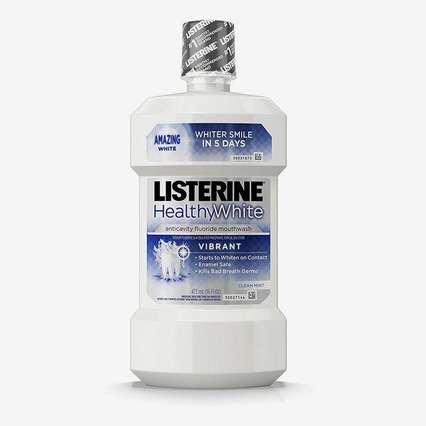 Listerine Healthy White Vibrant Multi-Action Rinse
