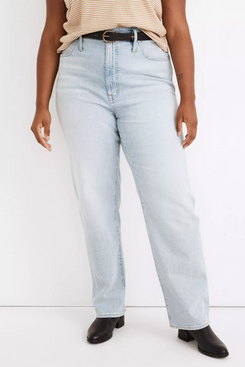 Madewell The Perfect Vintage Straight Jean in Fitzgerald Wash