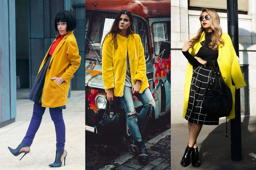 4a6bced390b 11 Ways to Pull Off a Bright-Yellow Coat -- The Cut