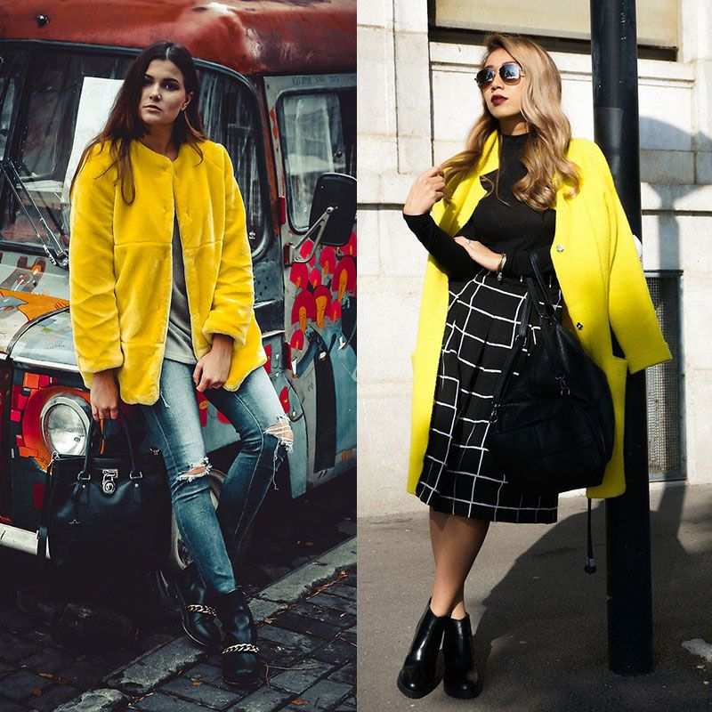 b9e3ca50b5a 11 Ways to Pull Off a Bright-Yellow Coat