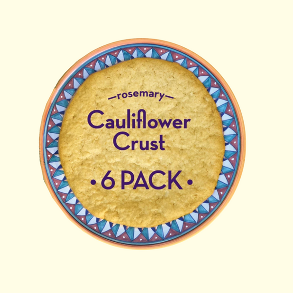 Uncle Nick's Rosemary Cauliflower Pizza Crust, Pack of 6