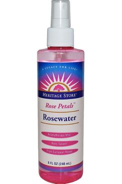 Heritage Products Rose Water with Atomizer