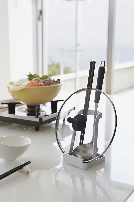 YAMAZAKI Home Tower-Ladle & Lid Stand
