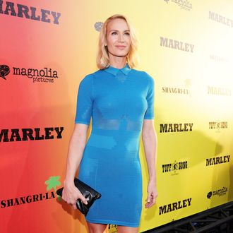 Kelly Lynch arrives for the premiere of Magnolia Picture's