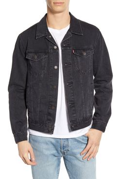 Levi's Denim Trucker Jacket, Liquorice