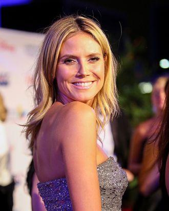 20 October 2012 - Los Angeles, California - Heidi Klum. Children's Hospital Los Angeles Gala: Noche de Ninos.