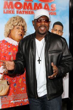 """HOLLYWOOD, CA - FEBRUARY 10:  Actor Martin Lawrence arrives at the Screening Of 20th Century Fox & New Regency """"Big Mommas: Like Father, Like Son"""" on February 10, 2011 in Hollywood, California.  (Photo by Valerie Macon/Getty Images) *** Local Caption *** Martin Lawrence"""