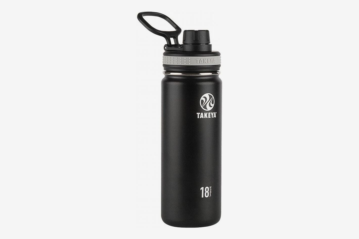 75522d9e90 Takeya Originals Vacuum-Insulated Stainless-Steel Water Bottle, 18oz