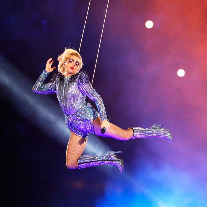 Lady Gaga Picked Versace for the Super Bowl Halftime Show 79445249e