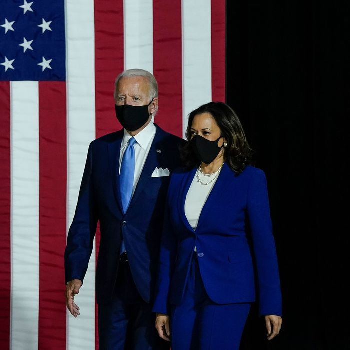 Joe Biden and Kamala Harris.